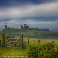 Buy canvas prints of The Road To Dunstanburgh by Trevor Camp