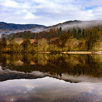 Buy canvas prints of  Tranquil Coniston by Trevor Camp