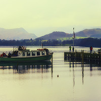 Buy canvas prints of Ullswater Ferry - 04 by Trevor Camp
