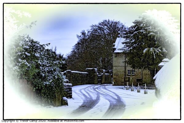 Winter - St Ives Estate Print by Trevor Camp