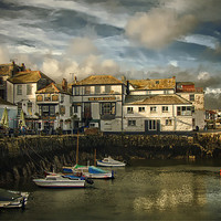 Buy canvas prints of Falmouth harbour by Catherine Joll
