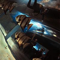 Buy canvas prints of Aquarium by Aziz Saltik