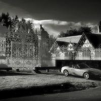 Buy canvas prints of Mazda MX5 at Midnight by David  Worthington
