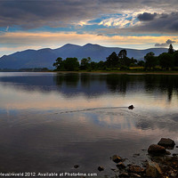 Buy canvas prints of Skiddaw and Derwentwater from Kettlewell by Louise Heusinkveld Canvas Prints