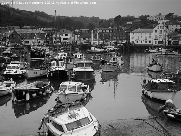 Mevagissey Harbour, Cornwall Canvas print by Louise Heusinkveld Canvas Prints