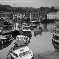 Buy canvas prints of Mevagissey Harbour, Cornwall by Louise Heusinkveld Canvas Prints