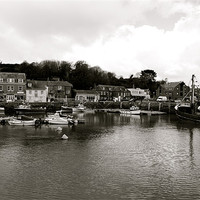 Buy canvas prints of Padstow Harbour by barnabas whiting