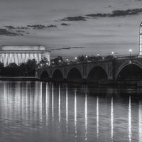 Buy canvas prints of Washington Landmarks at Dawn II by Clarence Holmes