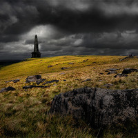Buy canvas prints of Stoodley pike by Robert Fielding