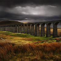 Buy canvas prints of Ribblehead viaduct by Robert Fielding