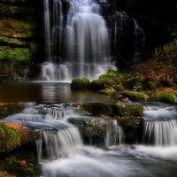 Buy canvas prints of Scaleber force waterfalls  by Robert Fielding