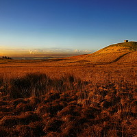 Buy canvas prints of Rivington pike by Robert Fielding