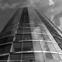 Buy canvas prints of Velocity Tower by Angie Morton