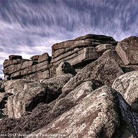 Buy canvas prints of Stanage Edge View by Angie Morton