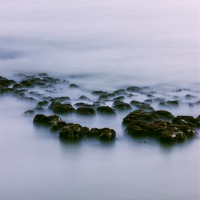 Buy canvas prints of Atmospheric Rocks by Angie Morton