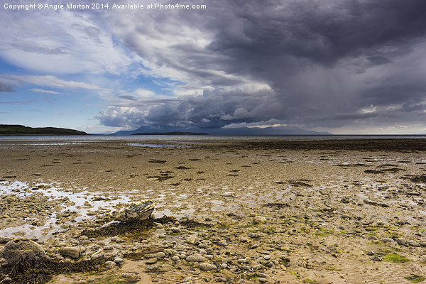 Ettrick Bay Canvas Print by Angie Morton