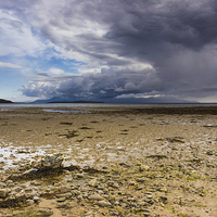 Buy canvas prints of Ettrick Bay by Angie Morton