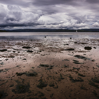 Buy canvas prints of Kilchattan Bay by Angie Morton