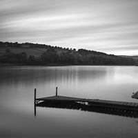Buy canvas prints of Damflask Mono by Angie Morton