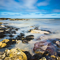 Buy canvas prints of Seaham Seascape by Angie Morton