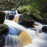 Buy canvas prints of Wyming Brook by Angie Morton
