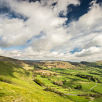 Buy canvas prints of Fairweather View of The Great Ridge by Angie Morton