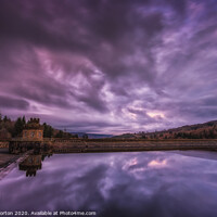 Buy canvas prints of Broomhead Reservoir and Dam by Angie Morton