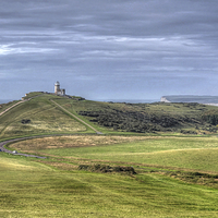 Buy canvas prints of Belle Tout Lighthouse  by Diana Mower
