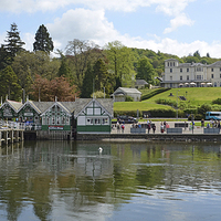 Buy canvas prints of Windermere by Diana Mower