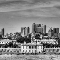 Buy canvas prints of Greenwich by Diana Mower