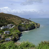 Buy canvas prints of Trevaunance Cove by Diana Mower