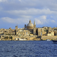 Buy canvas prints of  Valletta Malta by Diana Mower