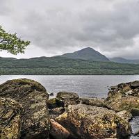 Buy canvas prints of   Loch  Lomond Scotland by Diana Mower