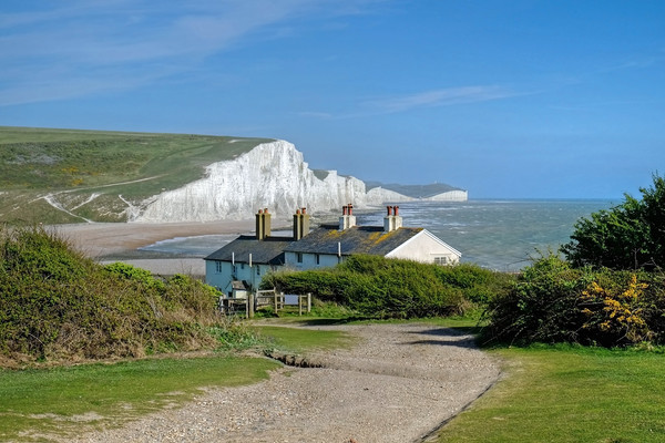 The Seven Sisters  Canvas Print by Diana Mower