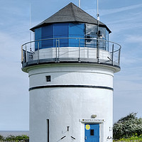 Buy canvas prints of Pakefield Coastwatch lighthouse  by Diana Mower