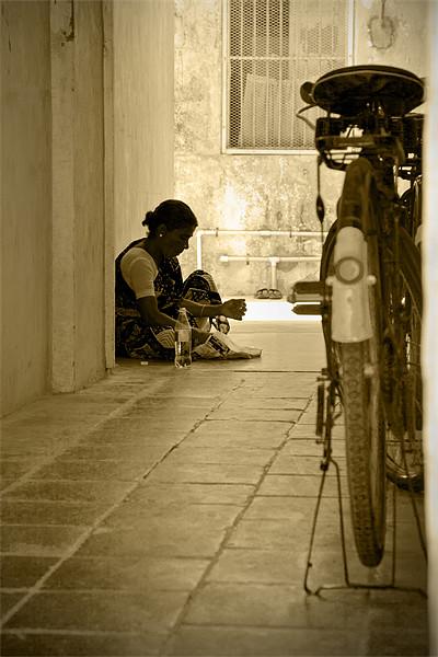 Silent Solace Print by Arfabita