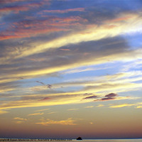 Buy canvas prints of Looking Glass Swept Sky by Susan Medeiros