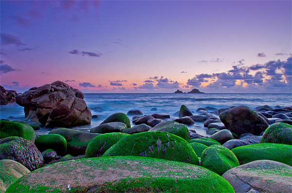 porth nanven Canvas print by ian mayou
