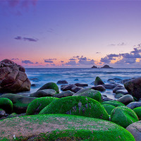 Buy canvas prints of porth nanven by ian mayou