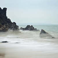 Buy canvas prints of  Barafundle Beach by Ben Welsh