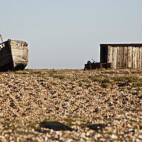 Buy canvas prints of Dungeness Boat by Ed Pettitt