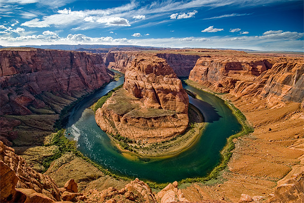 Horseshoe Bend Canvas Print by World Images