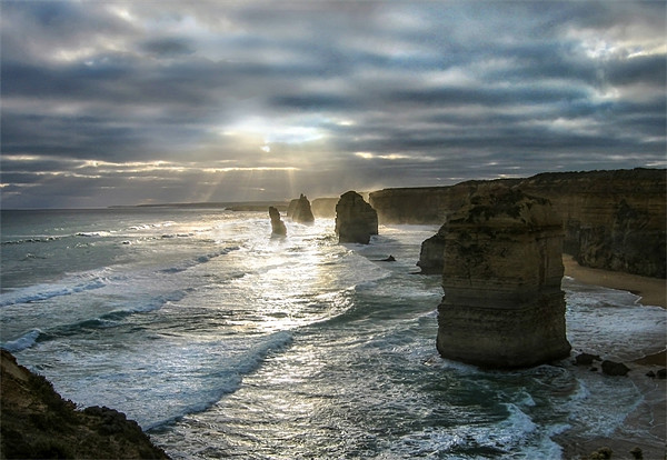 The Twelve Apostles Canvas Print by World Images
