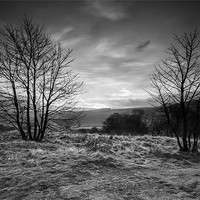 Buy canvas prints of Hope Valley Black and White by Jonathan Swetnam