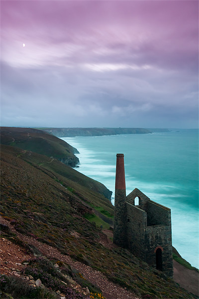Wheal Coates Mine Sunset Canvas print by Jonathan Swetnam
