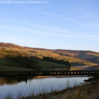 Buy canvas prints of Ladybower Reservoir by Vanna Taylor