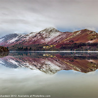 Buy canvas prints of Catbells Reflections by Gary Richardson