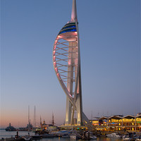 Buy canvas prints of Spinnaker Tower Portsmouth by Ashley Chaplin