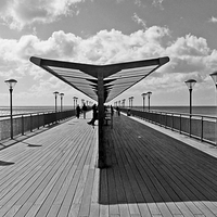 Buy canvas prints of BOSCOMBE PIER by Anthony Kellaway