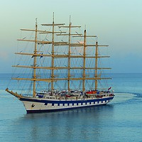 Buy canvas prints of           ROYAL CLIPPER                      by Anthony Kellaway